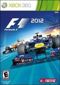 F1 2012 (Xbox 360) by Codemasters Box Art