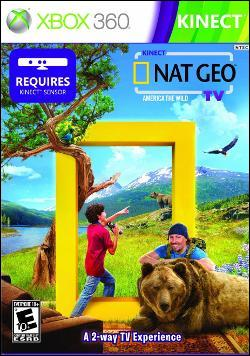 Kinect Nat Geo T.V. (Xbox 360) by Microsoft Box Art