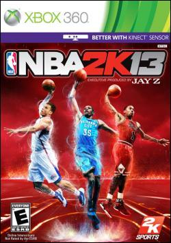 NBA 2k13 (Xbox 360) by Electronic Arts Box Art