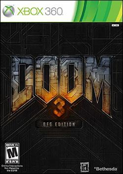 Doom 3 BFG Edition (Xbox 360) by Bethesda Softworks Box Art
