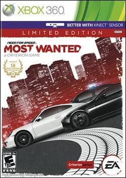 Need For Speed: Most Wanted (2012) (Xbox 360) by Electronic Arts Box Art