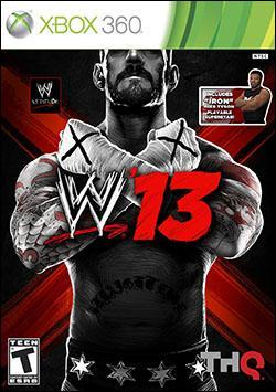 WWE '13 (Xbox 360) by THQ Box Art