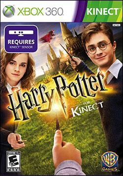 Harry Potter for Kinect (Xbox 360) by Warner Bros. Interactive Box Art