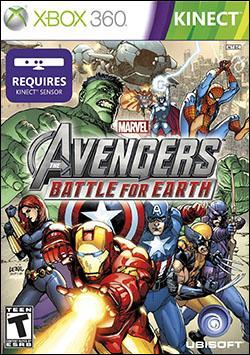 Marvel Avengers: Battle For Earth (Xbox 360) by Ubi Soft Entertainment Box Art