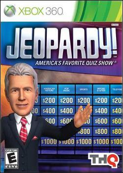 Jeopardy (Xbox 360) by THQ Box Art