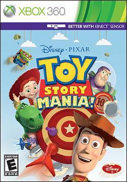 Toy Story Mania (Xbox 360) by Disney Interactive / Buena Vista Interactive Box Art