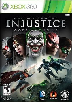 Injustice: Gods Among Us (Xbox 360) by Warner Bros. Interactive Box Art