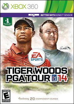 Tiger Woods PGA Tour 14 (Xbox 360) by Electronic Arts Box Art