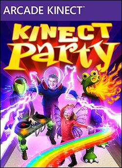 Kinect Party Box art