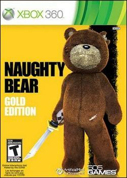 duplicate, cancel - Naughty Bear: Double Trouble (Xbox 360) by 505 Games Box Art