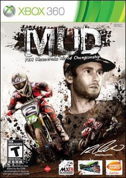 MUD - FIM Motocross World Championship (Xbox 360) by Namco Bandai Box Art