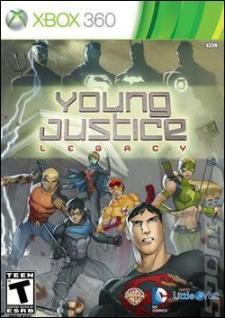 Young Justice: Legacy (Xbox 360) by Microsoft Box Art