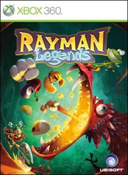 Rayman Legends (Xbox 360) by Ubi Soft Entertainment Box Art