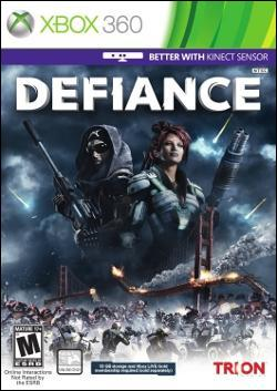 Defiance (Xbox 360) by Trion Worlds Box Art