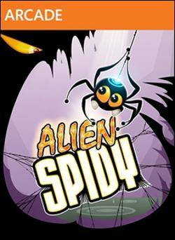 Alien Spidy (Xbox 360 Arcade) by Microsoft Box Art
