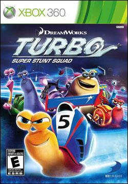 Turbo: Super Stunt Squad (Xbox 360) by D3 Publisher Box Art
