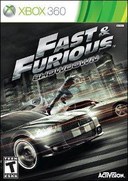 Fast and Furious: Showdown (Xbox 360) by Activision Box Art