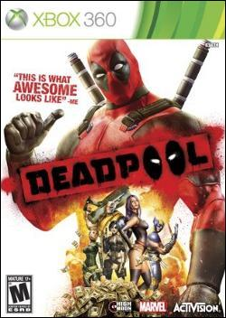 Deadpool (Xbox 360) by Activision Box Art
