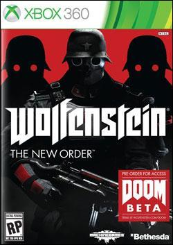 Wolfenstein: The New Order (Xbox 360) by Bethesda Softworks Box Art