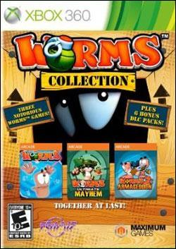 Worms Collection (Xbox 360) by Microsoft Box Art