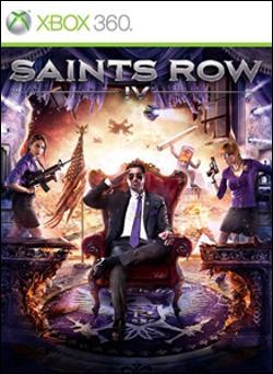 Saints Row IV (Xbox 360) by Deep Silver Box Art