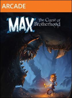 Max: The Curse of Brotherhood (Xbox 360 Arcade) by Microsoft Box Art