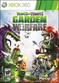 Plants vs. Zombies: Garden Warfare (Xbox 360) by Popcap Games Box Art