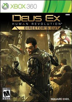 Deus Ex: Human Revolution Director's Cut (Xbox 360) by Square Enix Box Art