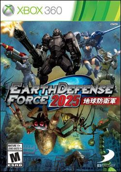 Earth Defense Force 2025 (Xbox 360) by D3 Publisher Box Art