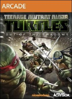 Teenage Mutant Ninja Turtles: Out of the Shadows (Xbox 360 Arcade) by Activision Box Art