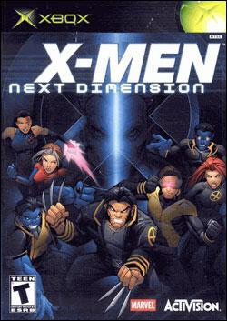 X-Men: Next Dimension (Xbox) by Activision Box Art