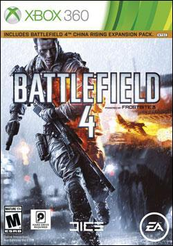 Battlefield 4 (Xbox 360) by Electronic Arts Box Art