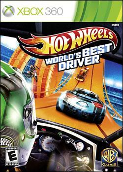Hot Wheels: World's Best Driver (Xbox 360) by Warner Bros. Interactive Box Art