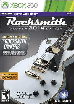 Rocksmith 2014 Edition (Xbox 360) by Ubi Soft Entertainment Box Art