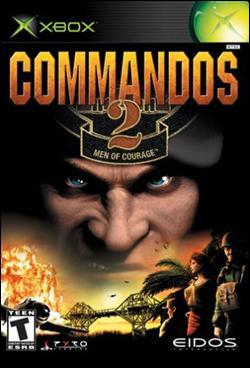 Commandos 2: Men of Courage (Xbox) by Eidos Box Art