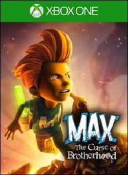 Max: The Curse of Brotherhood (Xbox One) by Microsoft Box Art