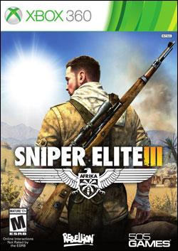 Sniper Elite 3 (Xbox 360) by 505 Games Box Art