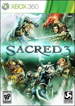 Sacred 3 (Xbox 360) by Deep Silver Box Art