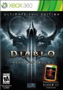 Diablo 3: Ultimate Evil Edition (Xbox 360) by Activision Box Art