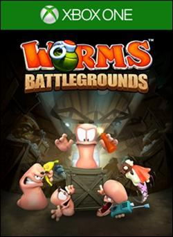 Worms Battlegrounds (Xbox One) by Microsoft Box Art