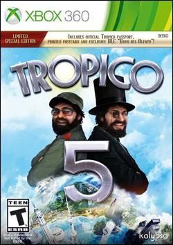 Tropico 5 (Xbox 360) by Kalypso Media Digital, Ltd. Box Art
