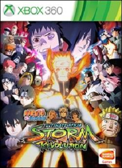 NARUTO SHIPPUDEN: Ultimate Ninja STORM Revolution (Xbox 360) by Ban Dai Box Art