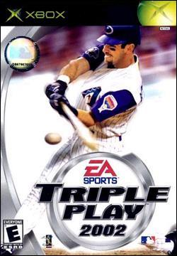 Triple Play 2002 Box art