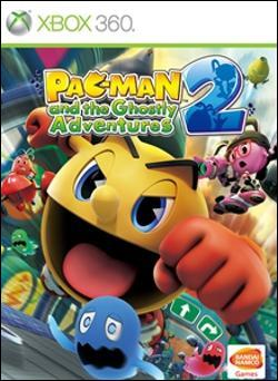 Pac-Man and the Ghostly Adventures 2 (Xbox 360) by Namco Bandai Box Art