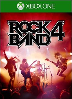 Rock Band 4 (Xbox One) by Madcatz Box Art