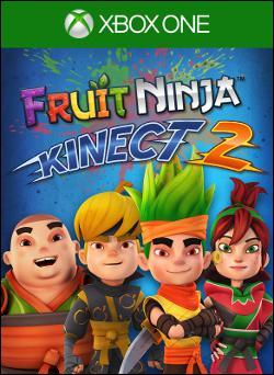 Fruit Ninja Kinect 2 Box art