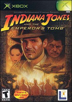 Indiana Jones and the Emperor's Tomb (Xbox) by LucasArts Box Art