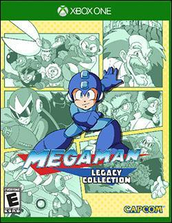 Mega Man Legacy Collection (Xbox One) by Capcom Box Art