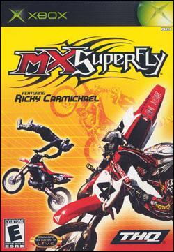 MX Superfly featuring Ricky Carmichael (Xbox) by THQ Box Art