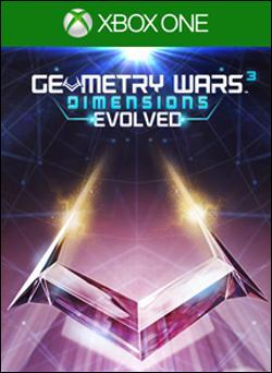 Geometry Wars 3: Dimensions Evolved (Xbox One) by Microsoft Box Art